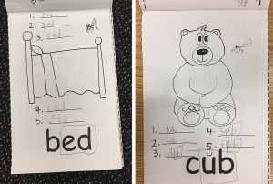 Activity: Short Vowel Books