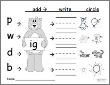 word family activities 3